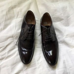Men's Paul Smith brown leather oxfords 8.5  42.5